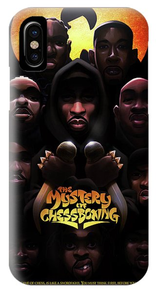 The Mystery Of Chessboxing IPhone Case