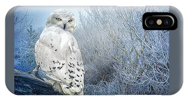 The Mystical Snowy Owl IPhone Case