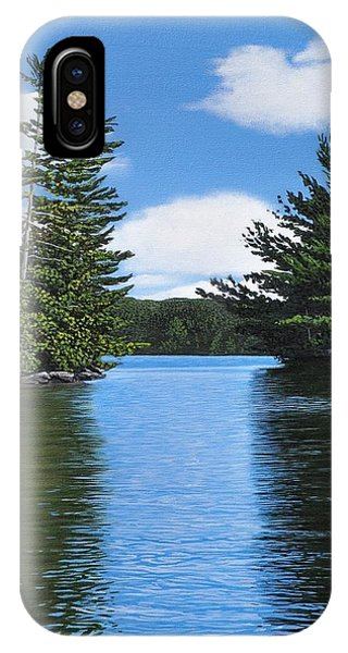 The Narrows Of Muskoka IPhone Case