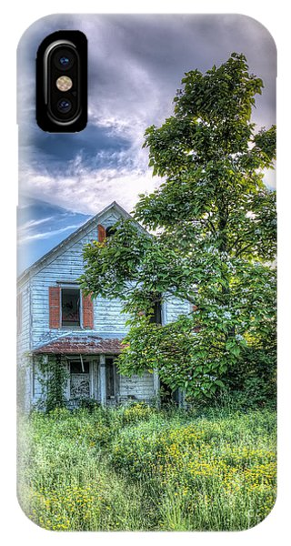 The Nathaniel White Farm House IPhone Case