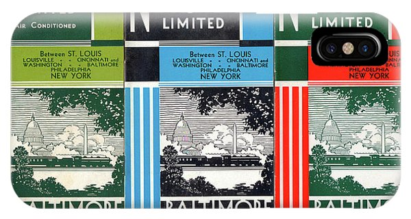 The National Limited Collage IPhone Case