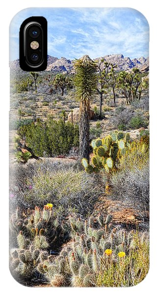 The Natural Garden - Joshua Tree National Park IPhone Case