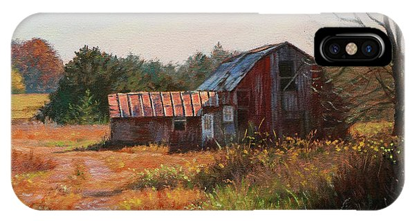 The Neighbor's Barn IPhone Case
