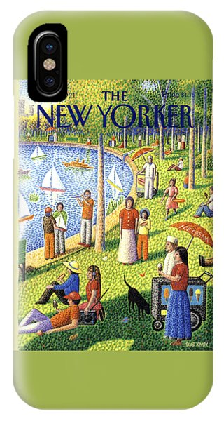 The New Yorker Cover - July 15th, 1991 IPhone Case