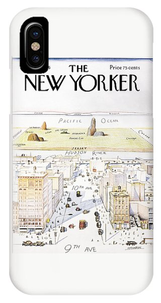 bf822f4e0a66 New Yorker March 29, 1976 IPhone Case