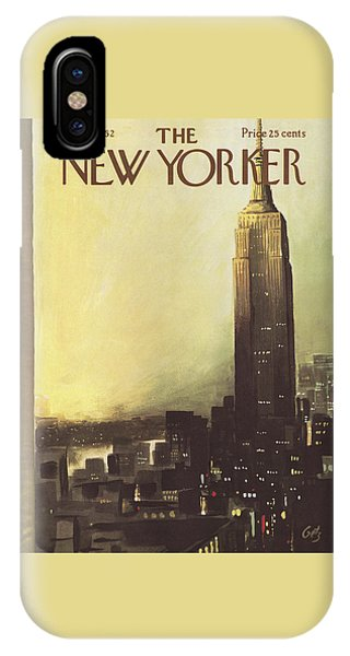 The New Yorker Cover - March 3rd, 1962 IPhone Case