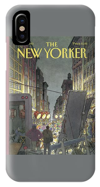 New Yorker March 8th, 1993 IPhone Case