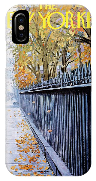 Season iPhone Case - Autumn In New York by Arthur Getz