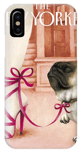 The New Yorker Cover - September 27th, 2004 IPhone Case