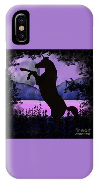 The Night Of The Unicorn IPhone Case