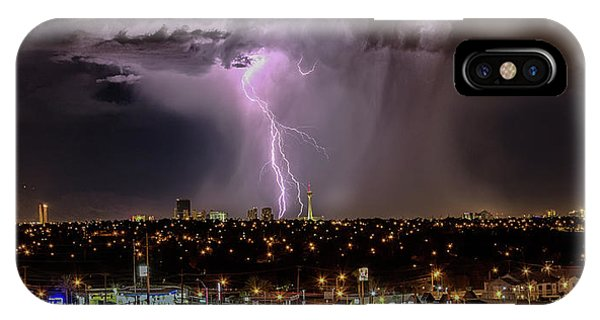 IPhone Case featuring the photograph The North American Monsoon by Michael Rogers