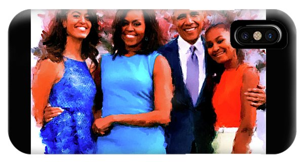The Obama Family IPhone Case
