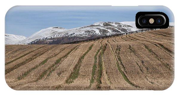 The Ochil Hills In Clackmannanshire IPhone Case