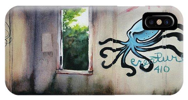 The Octopus's Garden IPhone Case