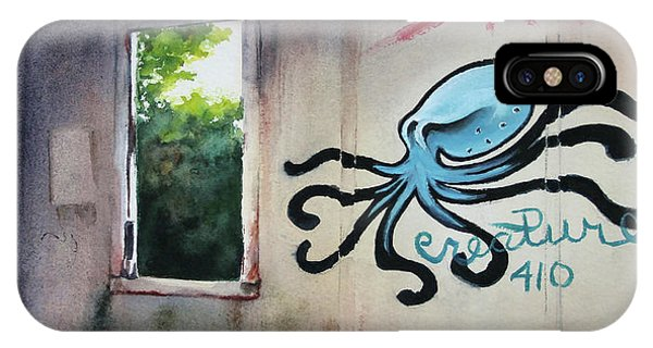 The Octopus's Garden IPhone Case
