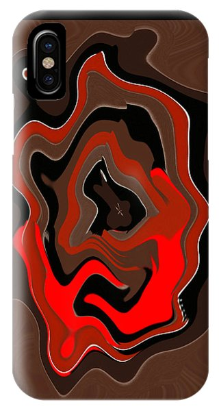 Original Contemporary Painting The Odyssey IPhone Case