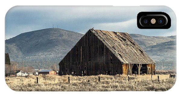 The Old Barn At The Edge Of Town IPhone Case
