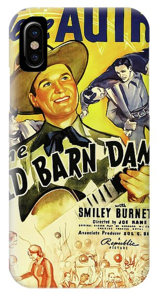 The Old Barn Dance 1938 IPhone Case
