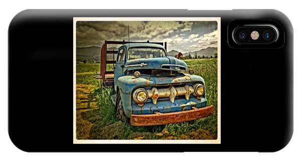 The Blue Classic Ford Truck IPhone Case