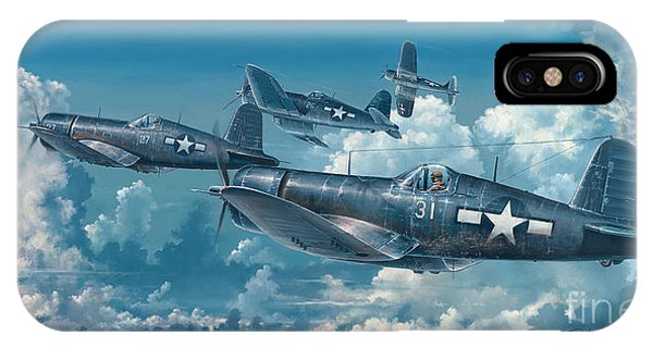 Wwi iPhone Case - The Old Breed by Randy Green