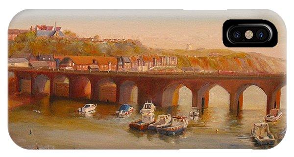 The Old Bridge - Folkestone Harbour IPhone Case
