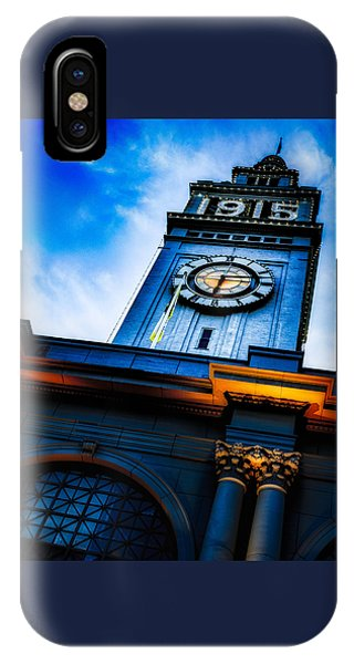 The Old Clock Tower IPhone Case