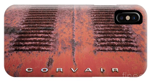 Corvair iPhone Case - The Old Corvair by Linda D Lester
