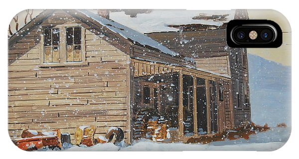 the Old Farm House IPhone Case