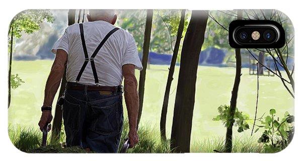 The Old Gardener IPhone Case