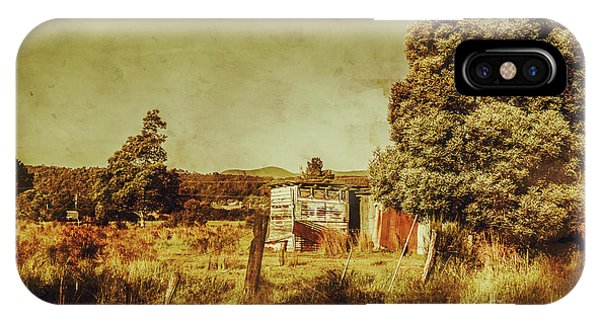 Exterior iPhone Case - The Old Hay Barn by Jorgo Photography - Wall Art Gallery