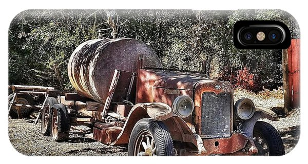 The Old Jalopy In Wine Country, California  IPhone Case