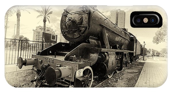 The Old Locomotive IPhone Case