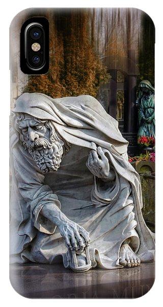 The Old Man Of Powazki Cemetery Warsaw  IPhone Case