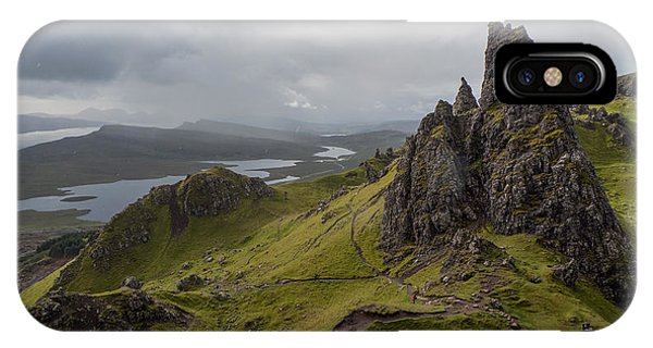 The Old Man Of Storr, Isle Of Skye, Uk IPhone Case