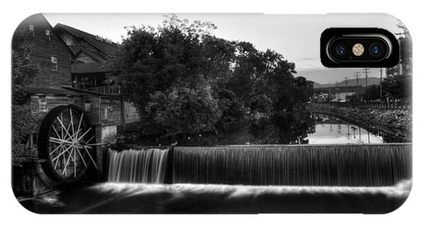The Old Mill In Black And White IPhone Case