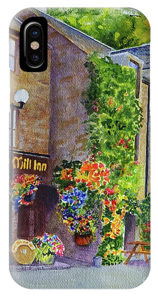 The Old Mill Inn IPhone Case