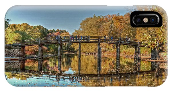 The Old North Bridge IPhone Case