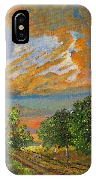 The Old Orchard IPhone Case