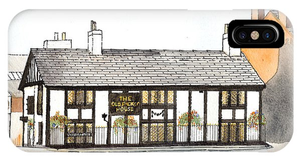 The Old Packet House IPhone Case