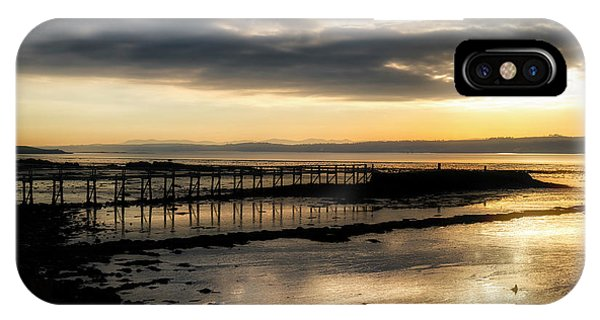 The Old Pier In Culross, Scotland IPhone Case