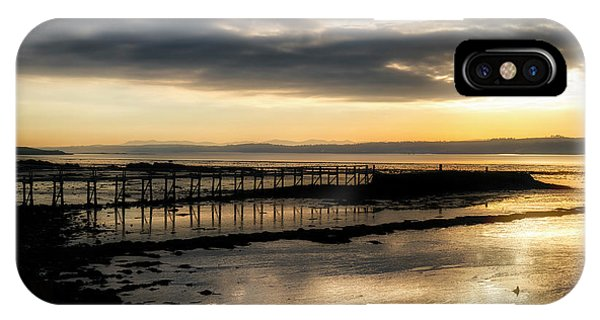 The Old Pier In Culross, Scotland IPhone Case
