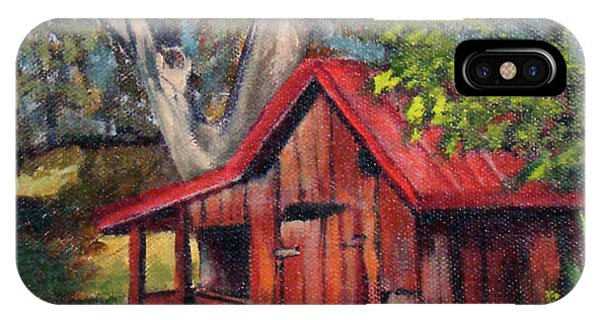 The Old Pig Barn IPhone Case