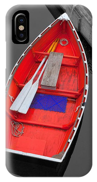 Chatham iPhone Case - The Old Red Lobster Boat  by Emmanuel Panagiotakis
