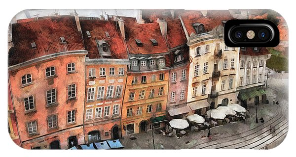 Old Town In Warsaw # 20 IPhone Case