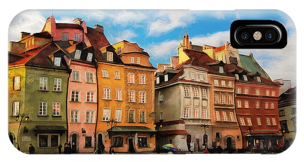 Old Town In Warsaw # 23 IPhone Case