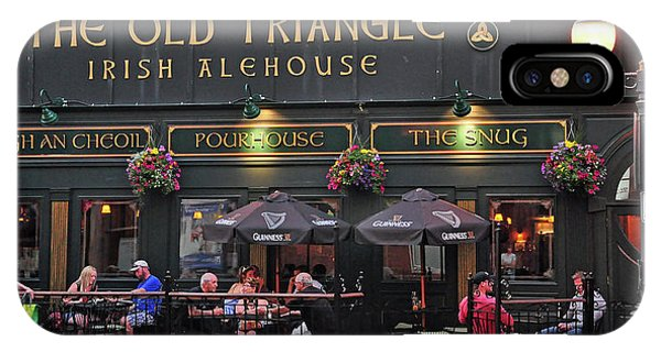 The Old Triangle Alehouse IPhone Case