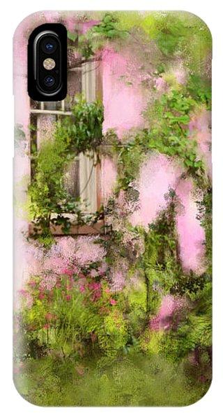 The Olde Pink House In Savannah Georgia IPhone Case