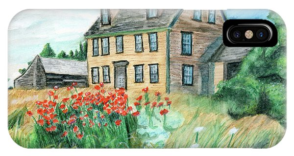 The Olson House With Poppies IPhone Case
