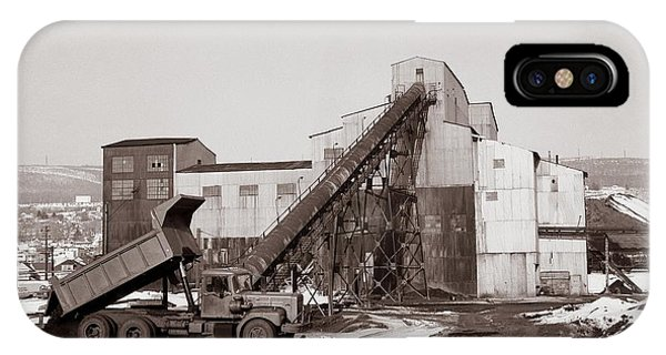 The Olyphant Pennsylvania Coal Breaker 1971 IPhone Case