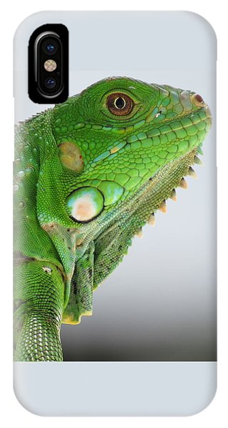 The Omnivorous Lizard IPhone Case